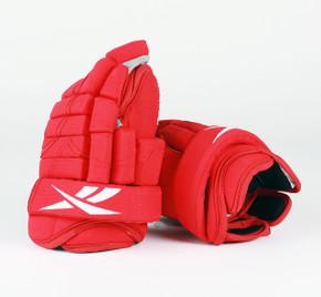 """14"""" Reebok HGSTJR Gloves - Team Stock Detroit Red Wings #2"""