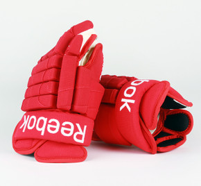 "14"" Reebok HGSTJR Gloves - Team Stock Detroit Red Wings"