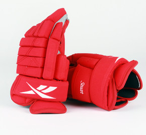 "14"" Reebok HGSTJR Gloves - Brad Stuart Detroit Red Wings"