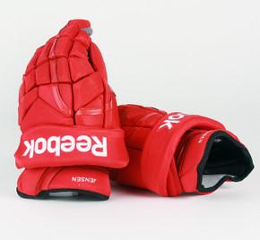 "14"" Reebok HG11KP Gloves - Nick Jensen Detroit Red Wings"