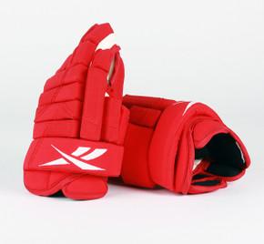 """13"""" Reebok HGSTJR Gloves - Team Stock Detroit Red Wings"""