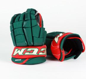 "14"" CCM HGCLP Gloves - Jonas Brodin Minnesota Wild"