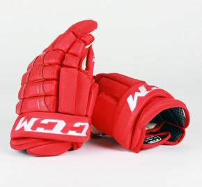 """14"""" CCM HG96 Gloves - Team Stock Detroit Red Wings"""