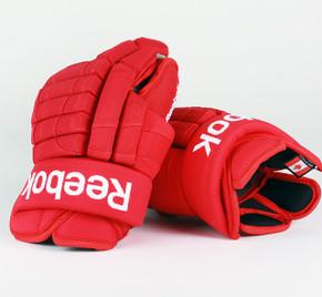 """15"""" Reebok HGSTJR Gloves - Drew Miller Detroit Red Wings #2"""
