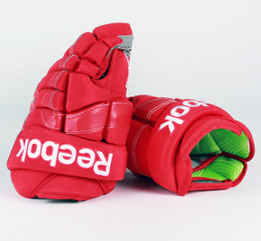 "14"" Reebok 90PR Gloves - Team Stock Detroit Red Wings"