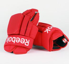 """15"""" Reebok HGSTJR Gloves - Drew Miller Detroit Red Wings"""
