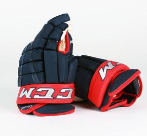 """14"""" CCM HG96XP Gloves - Matt Calvert Columbus Blue Jackets"""