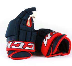 "14"" CCM HG97PP Gloves - Team Stock Columbus Blue Jackets"