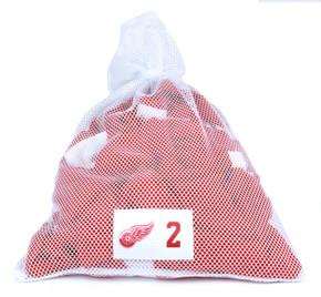 Detroit Red Wings White Laundry Bag - Brendan Smith