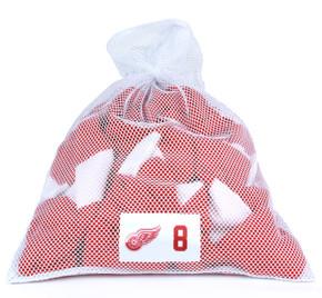 Detroit Red Wings White Laundry Bag - Justin Abdelkader