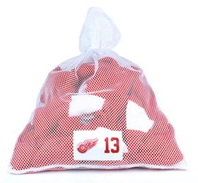 Detroit Red Wings White Laundry Bag - Pavel Datsyuk