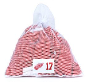 Detroit Red Wings White Laundry Bag - Brad Richards
