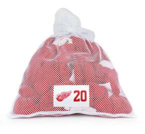 Detroit Red Wings White Laundry Bag - Drew Miller