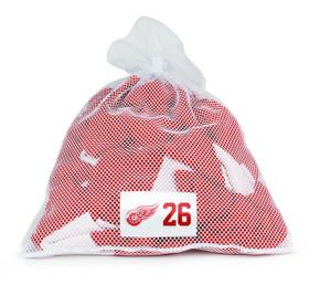 Detroit Red Wings White Laundry Bag - Tomas Jurco