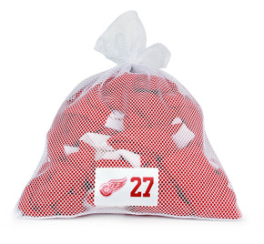Detroit Red Wings White Laundry Bag - Kyle Quincey