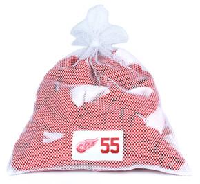 Detroit Red Wings White Laundry Bag - Niklas Kronwall