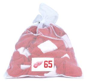 Detroit Red Wings White Laundry Bag - Danny Dekeyser