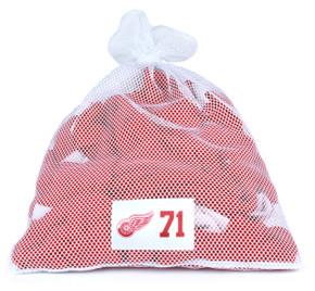 Detroit Red Wings White Laundry Bag - Dylan Larkin
