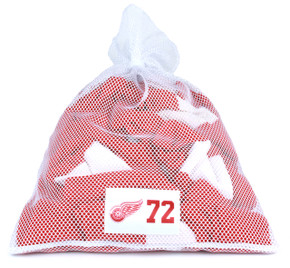 Detroit Red Wings White Laundry Bag - Erik Cole