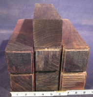 "East Indian Rosewood (Old-Growth) - 3"" x 3"" x 12"""