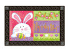 Easter Doormat with tray.