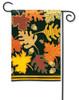 Patterned Leaves Garden Flag
