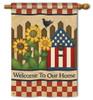 Decorative House Flag - BreezeArt