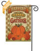A Time To Gather Outdoor Garden Flag reads correctly on both sides
