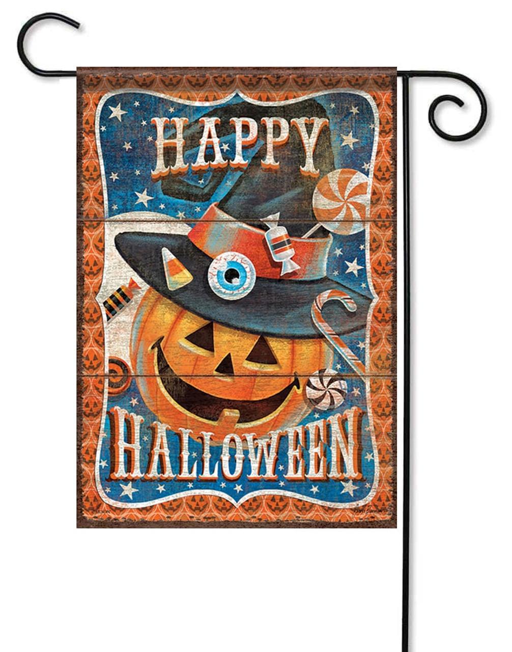 Halloween Treats Decorative Garden Flag