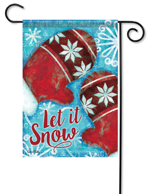 Winter Garden Flags - Colorful Decorative Outdoor Yard Flags