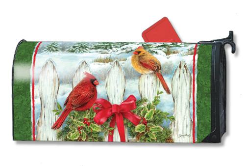 Winter Splendor Magnetic Mailbox Cover