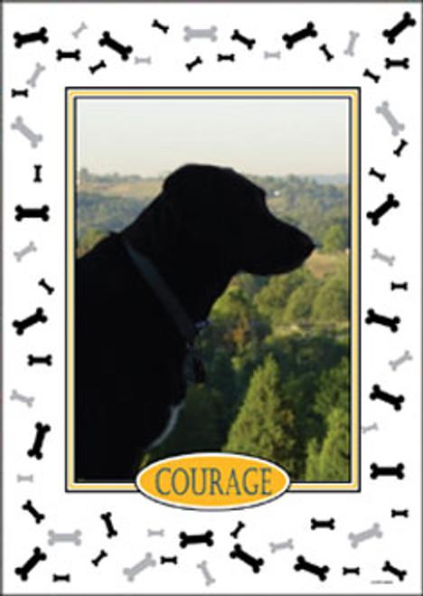 Personalized Pet Photo Flag: Dog - Garden Size 14 x 19.5
