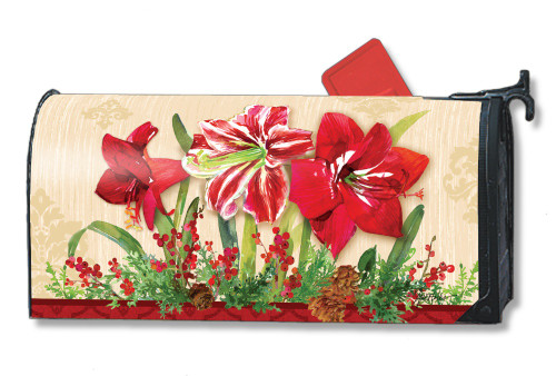 Mailwraps Amaryllis Magnetic Mailbox Cover