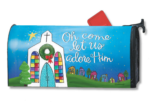 Mailwraps Adore Him Magnetic Mailbox Cover
