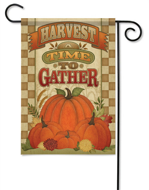 A Time To Gather Outdoor Garden Flag