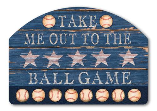 """Baseball Season Yard DeSign Yard Sign - 14"""" x 10"""""""