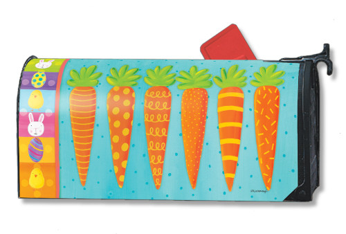 Bunny Delight Magnetic Mailbox Cover