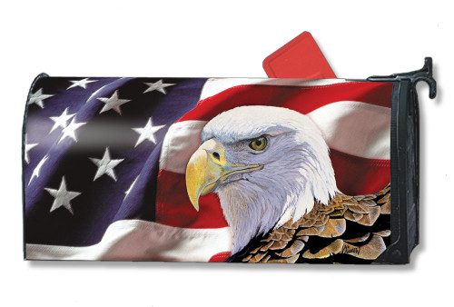 Spirit of Freedom Magnetic Mailbox Cover