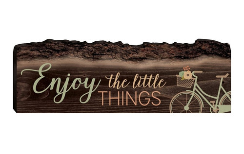 Enjoy The Little Things Wall or Table Sign