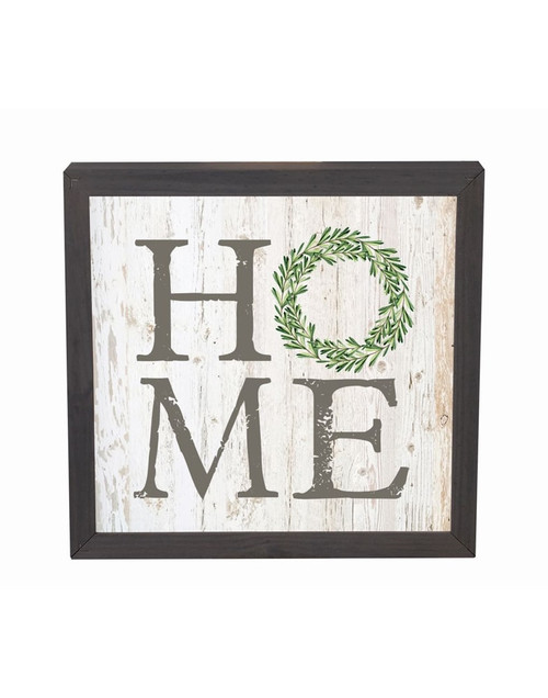 Home Framed Wall or Table Decor