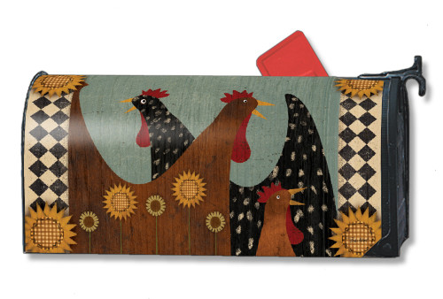 Morning Chatter Magnetic Mailbox Cover