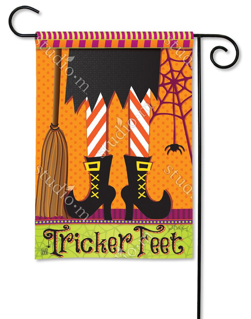 "Tricker Feet Garden Flag - 12.5"" x 18"" - BreezeArt"