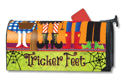 Tricker Feet Magnetic Mailbox Cover