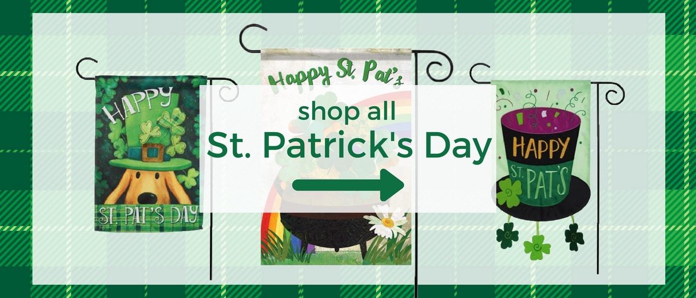 Shop St. Patricks Day Shamrocks Decor