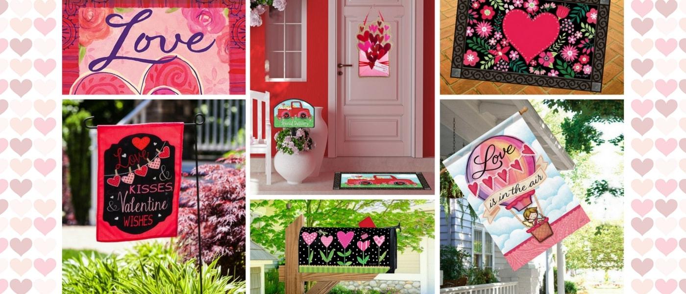 Shop Valentines Day Garden Flags