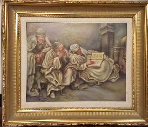 Mourning Tisha B'Av  Original framed by Elie Benzaquen