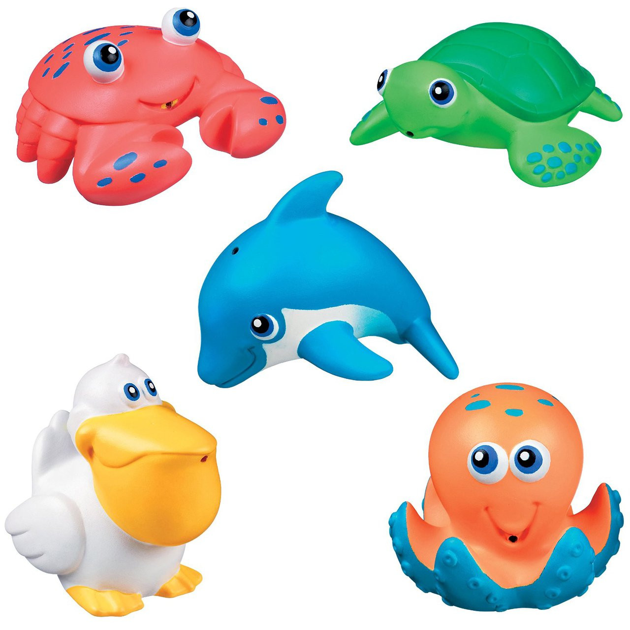 Bath Toy Munchkin Five Sea Squirts 5Pcs 31236 - Hobby Hunters