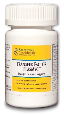 Researched Nutritionals, Transfer Factor PlasMyc