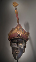 King's Headdress, Toma Peoples, Guinea, 19th Century