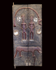 Fine Royal Door, Baule Peoples, Cote d' Ivoire (Ivory Coast)